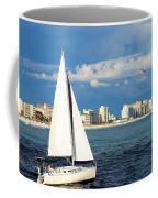 Sailing Destin, Fl Coffee Mug