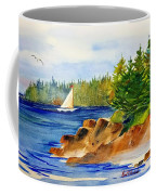 Sailing Downeast Coffee Mug