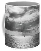 Sailing Dreams Black And White Coffee Mug