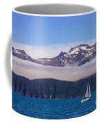 Sailing In Alaska Coffee Mug