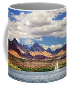 Sailing In Havasu Coffee Mug