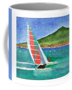 Sailing In Hawaii Coffee Mug