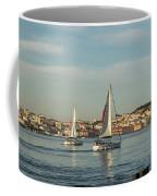 Sailing In Lisbon Portugal Coffee Mug