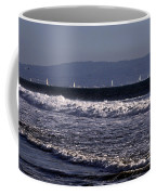 Sailing In Santa Monica Coffee Mug