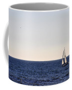 Sailing In Santa Monica II Coffee Mug