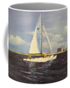 Sailing In The Netherlands Coffee Mug by Jack Skinner