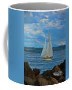 Sailing On A Summer Day Coffee Mug
