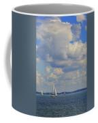 Sailing On Chiemsee Lake Coffee Mug