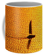 Sailing On Gold Coffee Mug