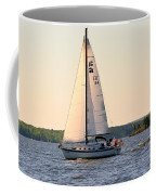 Sailing On Lake Murray Sc Coffee Mug
