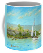 Sailing Out To Sea Coffee Mug