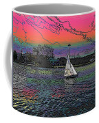 Sailing South Lake Union Coffee Mug
