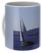 Sailing Stonington Harbor Coffee Mug