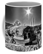 Sailing The Desert Coffee Mug
