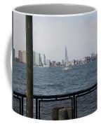 Sailing The Hudson River 1 Coffee Mug
