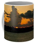 Sailing The Keys At Sunset Coffee Mug