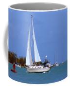 Sailing The Keys Coffee Mug
