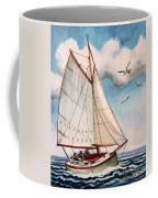 Sailing Through Open Waters Coffee Mug