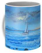 Sailing Through The Storm Coffee Mug