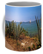Sailing Waterfront Of Prvic Island View Coffee Mug