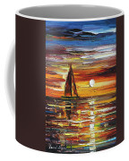 Sailing With The Sun Coffee Mug