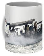 Sailors Patrol Kuwait Naval Bases Coffee Mug