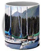 Sails Of Seldovia Coffee Mug