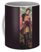 Saint Alexander A Panel From The Altarpiece The Nativity With Saints Coffee Mug