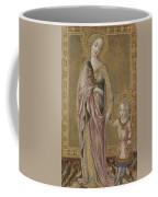 Saint Dorothy And The Infant Christ Coffee Mug
