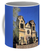 Saint Francis Cathedral Santa Fe Coffee Mug by Kurt Van Wagner