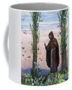 Saint Francis Of Assisi Preaching To The Birds Coffee Mug