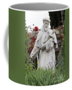 Saint Francis Statue In Carmel Mission Garden Coffee Mug