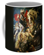 Saint George And The Dragon Coffee Mug