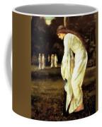 Saint George And The Dragon The Princess Tied To The Tree 1866 Coffee Mug