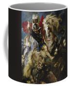 Saint George Battles The Dragon Coffee Mug