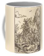 Saint George Slaying The Dragon Coffee Mug