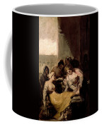 Saint Isabel Of Portugal Healing The Wounds Of A Sick Woman Coffee Mug