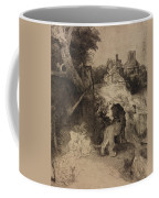 Saint Jerome In An Italian Landscape Coffee Mug