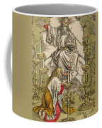Saint John On The Island Of Patmos Receives Inspiration From God To Create The Apocalypse Coffee Mug