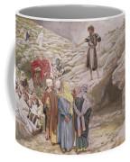 Saint John The Baptist And The Pharisees Coffee Mug by Tissot