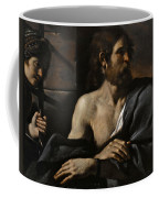Saint John The Baptist In Prison Visited By Salome Coffee Mug