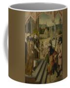 Saint Lawrence Before The Prefect Coffee Mug