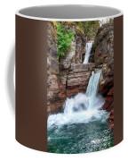 Saint Mary Falls - Glacier National Park Coffee Mug