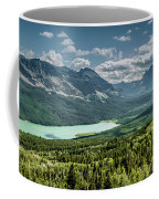 Saint Mary Lake Panorama Coffee Mug