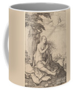 Saint Mary Magdalene In The Desert Coffee Mug