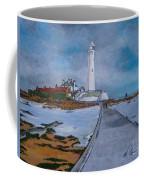 Saint Mary's Lighthouse Coffee Mug