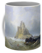 Saint Michael's Mount In Cornwall  Coffee Mug by William Clarkson Stanfield