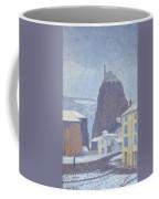 Saint Michel D Aiguilhe Haute Loire Under Snow 1890 Coffee Mug