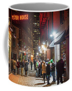 Saint Patrick's Day On Marshall Street Boston Ma Coffee Mug