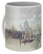 Saint Pauls From The River Coffee Mug by David Roberts